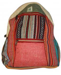 Colorful line Hemp cotton jute silk bag (DT-HB-010)