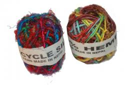Recycle Silk Colourful Thread D' Ball (DT-DB-002) Per Piece