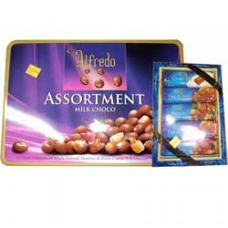 Alfredo Assortment Milk Choco (180grm)