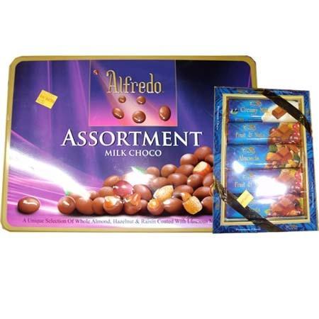 Alfredo Assortment Milk Choco (180grm)