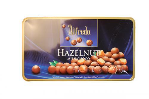 Alfredo Hazelnut Milk Chocolate (100grm)