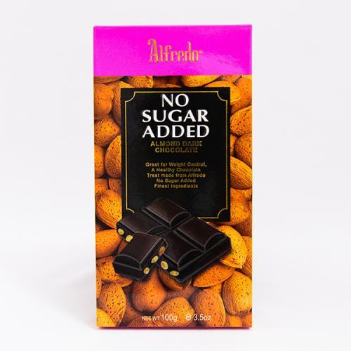 Alfredo No-Sugar Added Chocolate 100 Grm