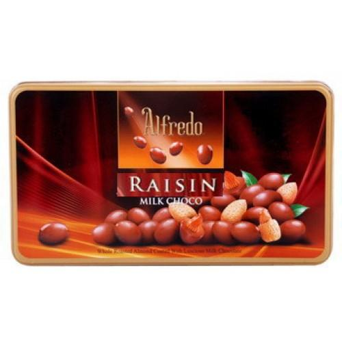 Alfredo Raisin Milk Choco (300grm)