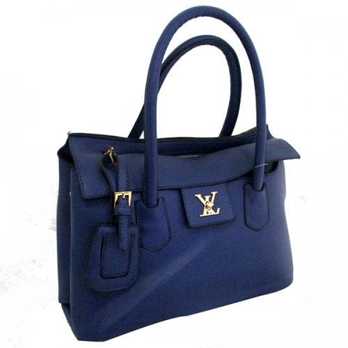 Blue Louis Vuitton Casual Bag For Ladies