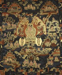 Buddha Life Thanka (28cmx33cmx)