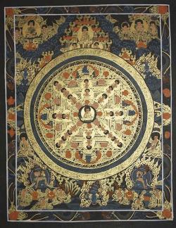 Buddha Mandala (26cmx34cm)
