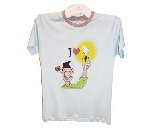 Cartoon Printed T-Shirt