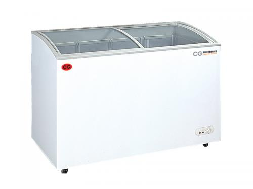CG Chest Freezer Curve Glass Door - 235 LTR