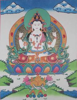 Chyangregig Thanka (27cmx36cm)