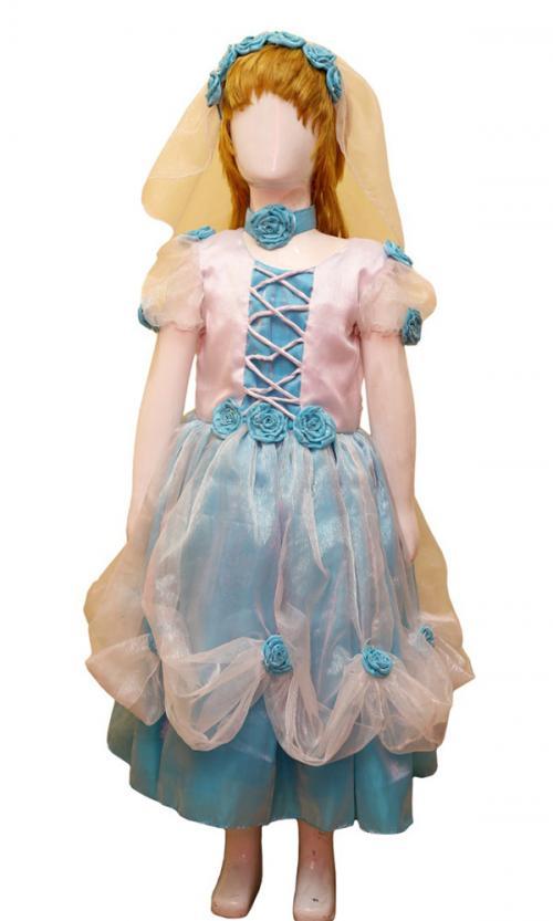 Cinderella Floral Frock - (JU-063)