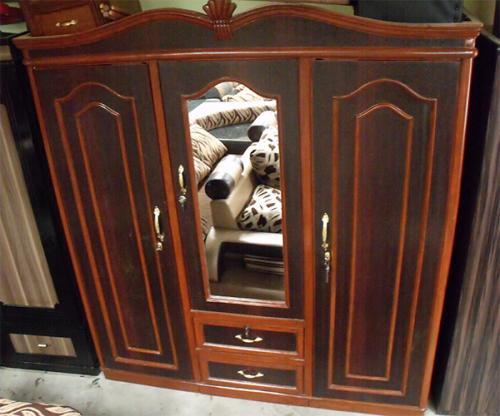 Cupboard Design Three Piece Wardrobe - (RD-004)