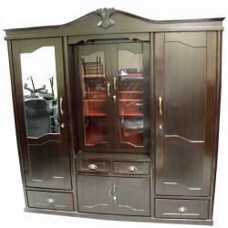 Three Piece Show Case Cupboard - (RD-008)