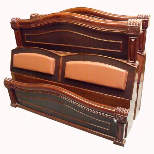 Texture Box Bed - (RD-014)