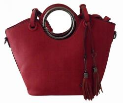 Bangkok Leather Handbag - (DS-058)