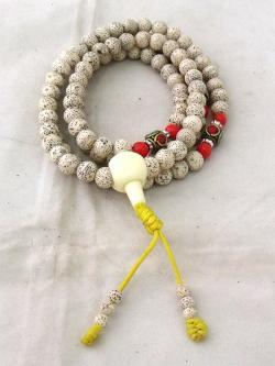 White Lotus Mala - (NH-010)