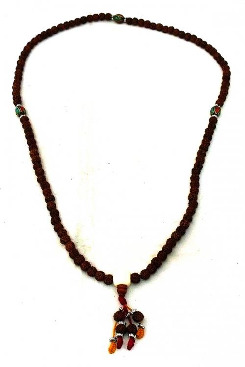 Cut Rudraksha Mala - (NH-014)