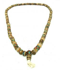 Yak Bone Beads Mala - (NH-023)