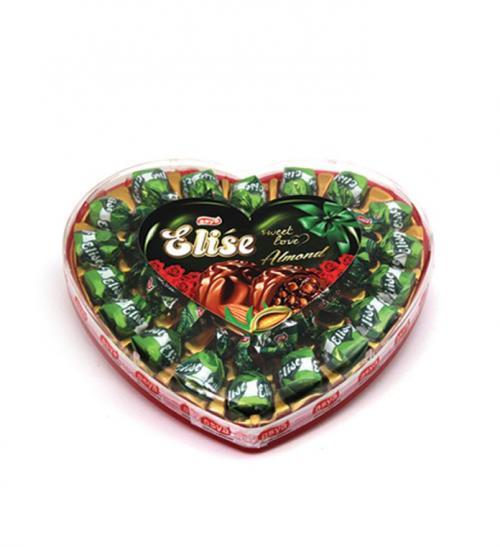Elise Truffle Big Heart Box Almond (270grm)