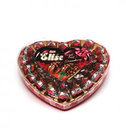 Elise Truffle Big Heart Box Strawberry (180grm)