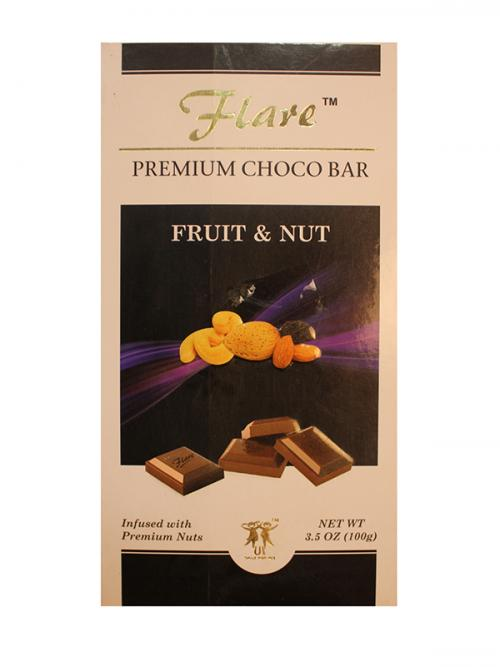 Flare Fruit And Nut Chocolate 100 Grm