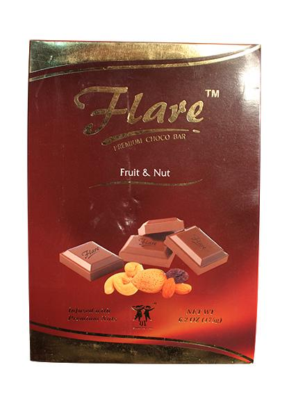 Flare Fruit And Nut Chocolate 175 Grm