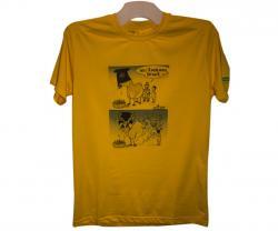Funny Cartoon Printed Yello T-Shirt