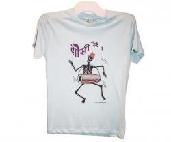 Funny Skeleton Printed T-Shirt