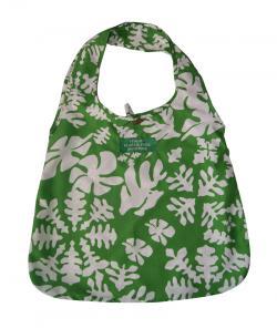 Himalayan Ladies Bag - Green Pattern Design Shopping Bag