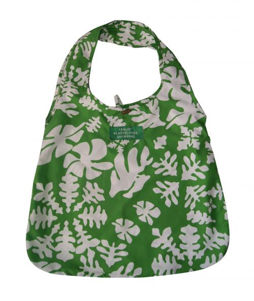 Himalayan Ladies Bag - Green Pattern Design Shopping Bag