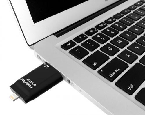 I-Flashdrive EVO Plus Lightning/USB 64GB - (OS-279)