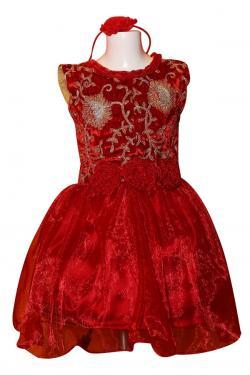 Girl's Frock Style Dress - (JU-050)