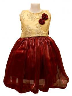 Girl's Frock Style Dress - (JU-055)