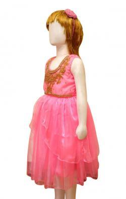 Girl's Frock Style Dress - (JU-056)