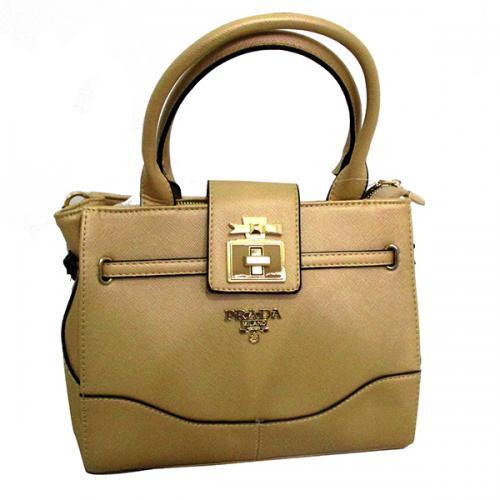 Prada Light Brown Women's Bag