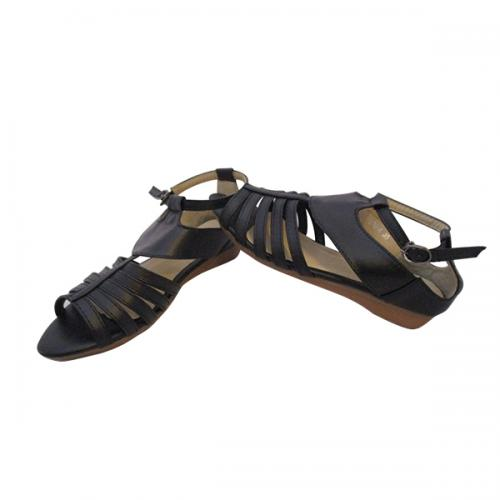 Black Color Fashionable Slipper for Ladies - ( MS-009)