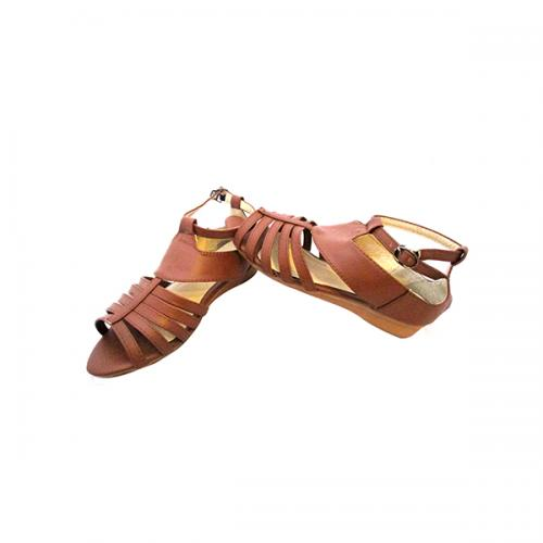 Brown Color Fashionable Slipper for Ladies - ( MS-008)