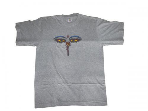 Grey T-Shirts Sam Swyambhu Eye - 100% cotton