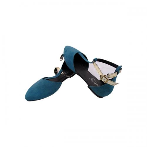 Blue Fashionable Close Shoes For Ladies - ( MS-031)