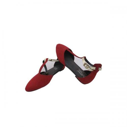 Red Fashionable Close Shoes For Ladies - (MS-030)
