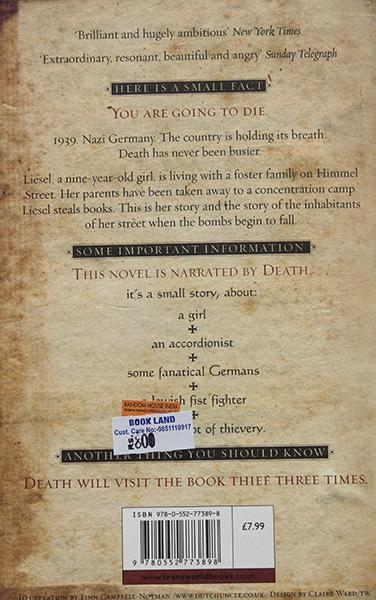 The Book Theif (Marcus Zusak)