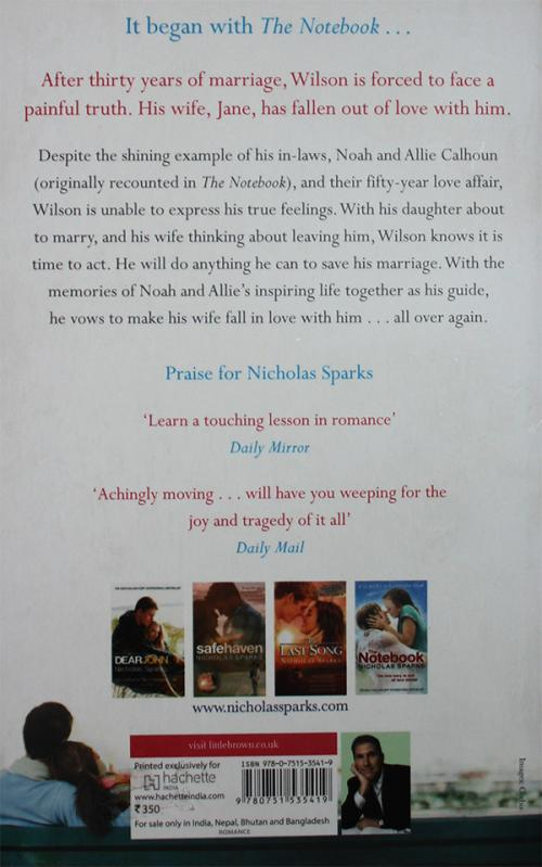 The Wedding (Nicholas Sparks)
