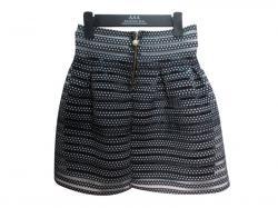 Dotted Elastic Skirt (Short)