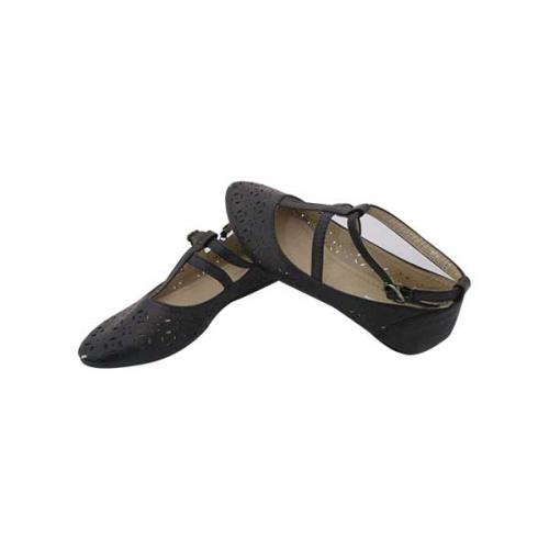Black Close Shoes For Ladies - (MS-028)