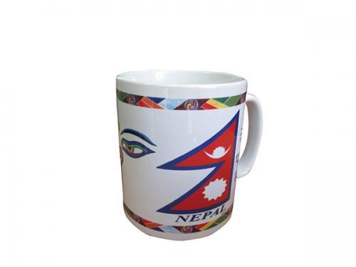 Ceramic Cups With Image Of Syambhu