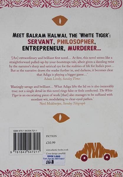 The White Tiger (Arvind Adiga)