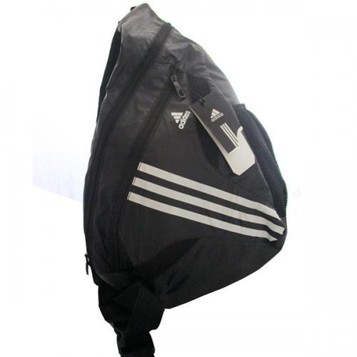 Adidas Black Side Sports Bag - (RB-SPORT-0043)