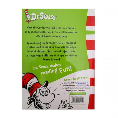 The Cat in the Hat: (Dr Seuss - Green Back Book) - (BL-031)