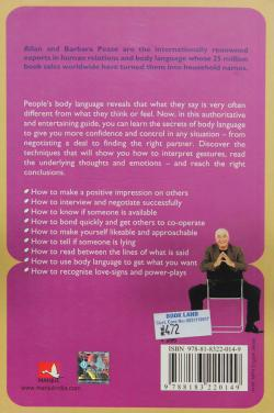 The Definitive Book of Body Language (Allan Pease and Barbara Pease)