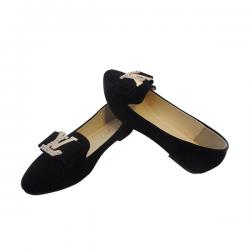 Stylish Black Flat Ballerinas for ladies - ( MS-014)