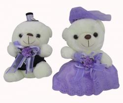 Sweet Couple Soft Teddy - (HH-001)